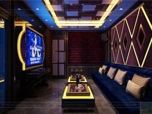 tư vấn thiết kế nội thất biệt thự lavilla - phòng karaoke 1