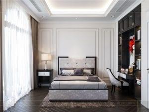 tư vấn thiết kế nội thất biệt thự lavilla - phòng ngủ nhỏ 10