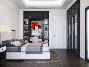 tư vấn thiết kế nội thất biệt thự lavilla - phòng ngủ nhỏ 11