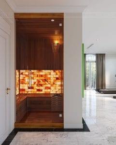 tư vấn thiết kế nội thất biệt thự lavilla - phòng sauna 1
