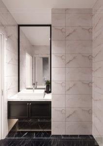 tư vấn thiết kế nội thất biệt thự lavilla green city - phòng tắm 1
