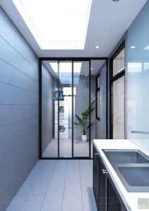 tư vấn thiết kế nội thất biệt thự lavilla green city - sân sau 3