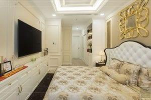 căn hộ 3 phòng ngủ landmark 81 - phòng ngủ master 3