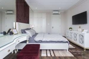 thi công nội thất biệt thự cao cấp - phòng ngủ nhỏ 5