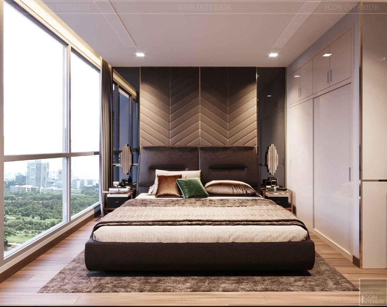 thiết kế nội thất nhà hiện đại - phòng ngủ 3