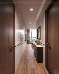 thiết kế nội thất nhà hiện đại - phòng ngủ 5