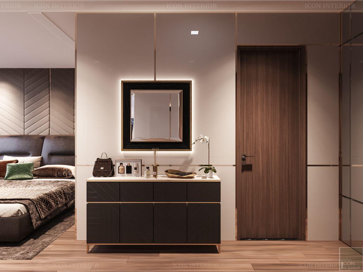 thiết kế nội thất nhà hiện đại - phòng ngủ 1