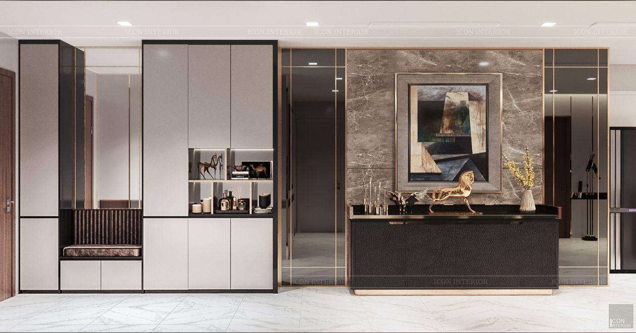 thiết kế nội thất nhà hiện đại - cửa ra vào