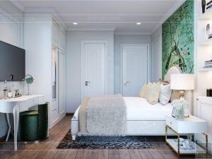 thiết kế nội thất thượng lưu - phòng ngủ master 1