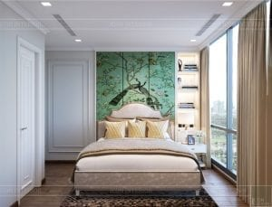 thiết kế nội thất thượng lưu - phòng ngủ master 2