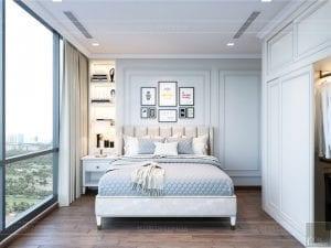 thiết kế nội thất thượng lưu - phòng ngủ nhỏ 2