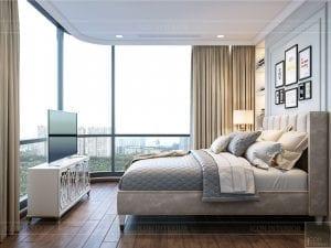 thiết kế nội thất thượng lưu - phòng ngủ nhỏ 1