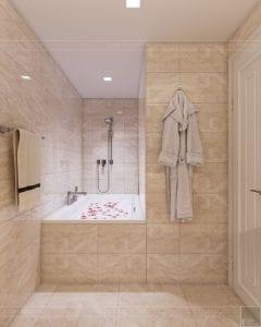 thiết kế nội thất thượng lưu - phòng tắm 1