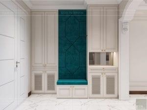 thiết kế nội thất thượng lưu - tiền sảnh 1