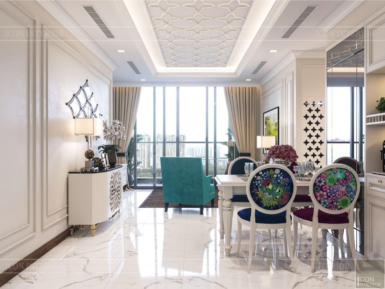 thiết kế nội thất thượng lưu - phòng khách 2