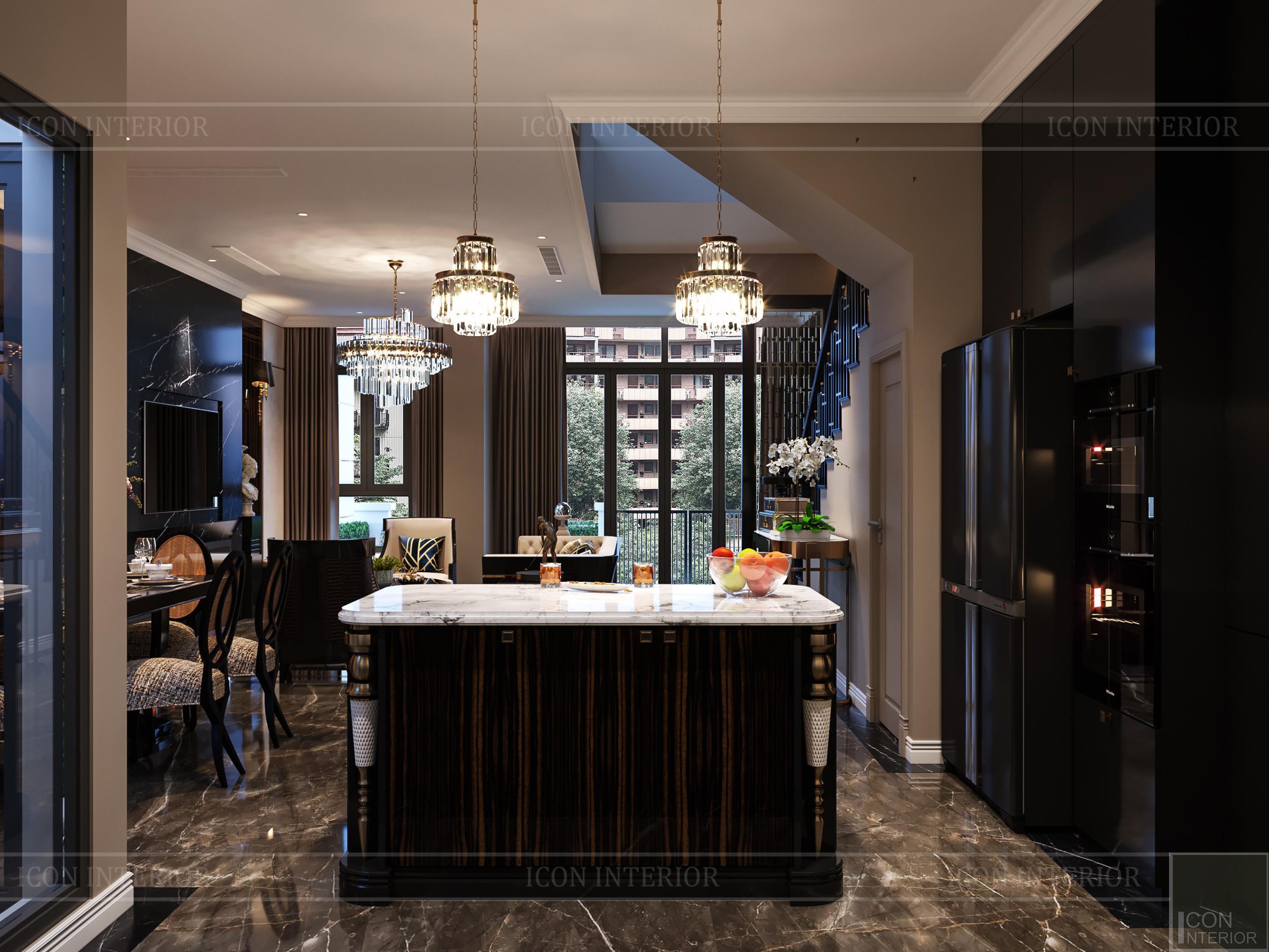 thiết kế nội thất đẳng cấp - phòng bếp 1