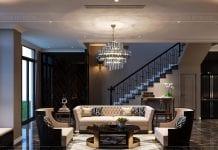 thiết kế nội thất đẳng cấp - phòng khách 1