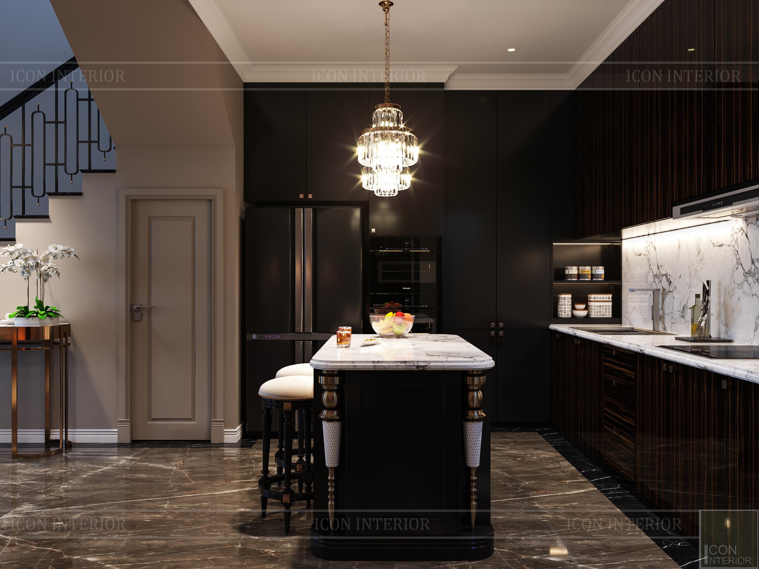 thiết kế nội thất đẳng cấp - đảo bếp