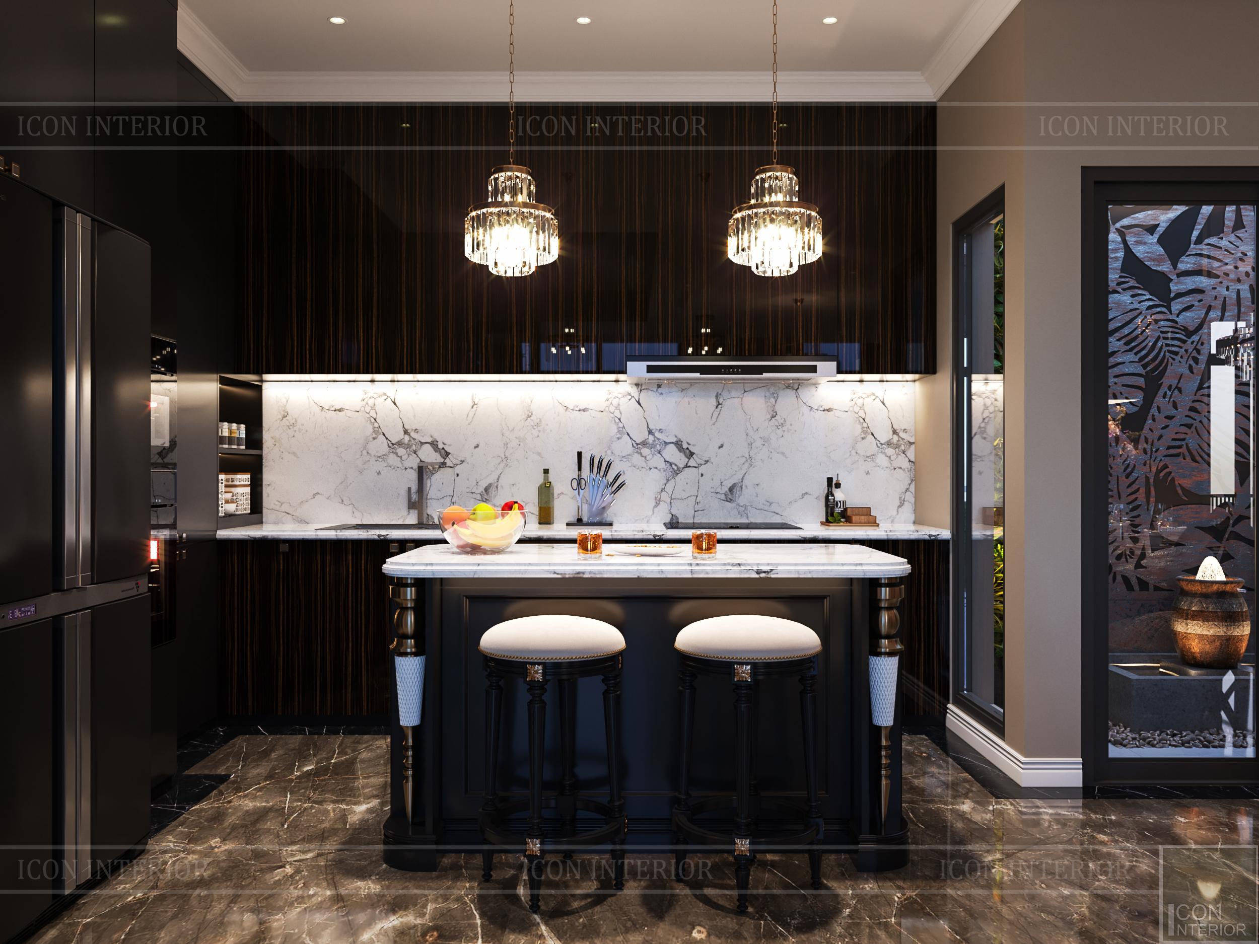 thiết kế nội thất đẳng cấp - phòng bếp 2