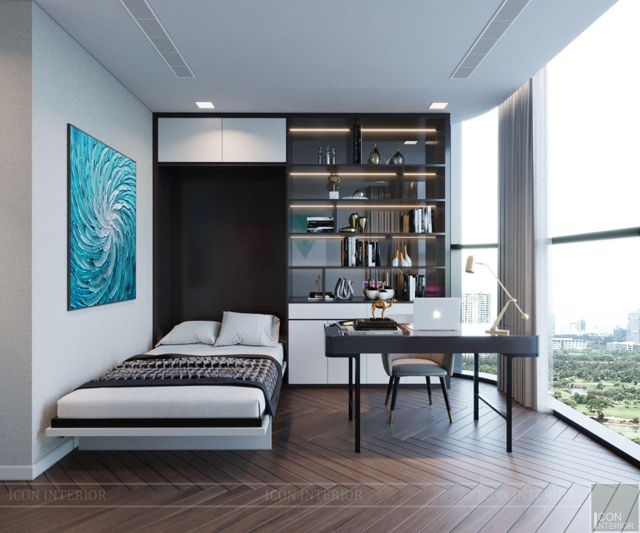 thiết kế căn hộ 4 phòng ngủ landmark 81 - phòng đa năng 2