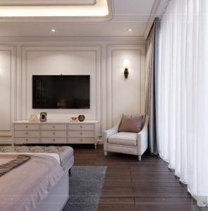 thiết kế căn hộ 4 phòng ngủ landmark 81 - phòng ngủ master 1