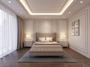 thiết kế căn hộ 4 phòng ngủ landmark 81 - phòng ngủ master 2