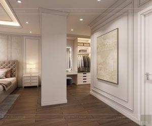 thiết kế căn hộ 4 phòng ngủ landmark 81 - phòng thay đồ 4