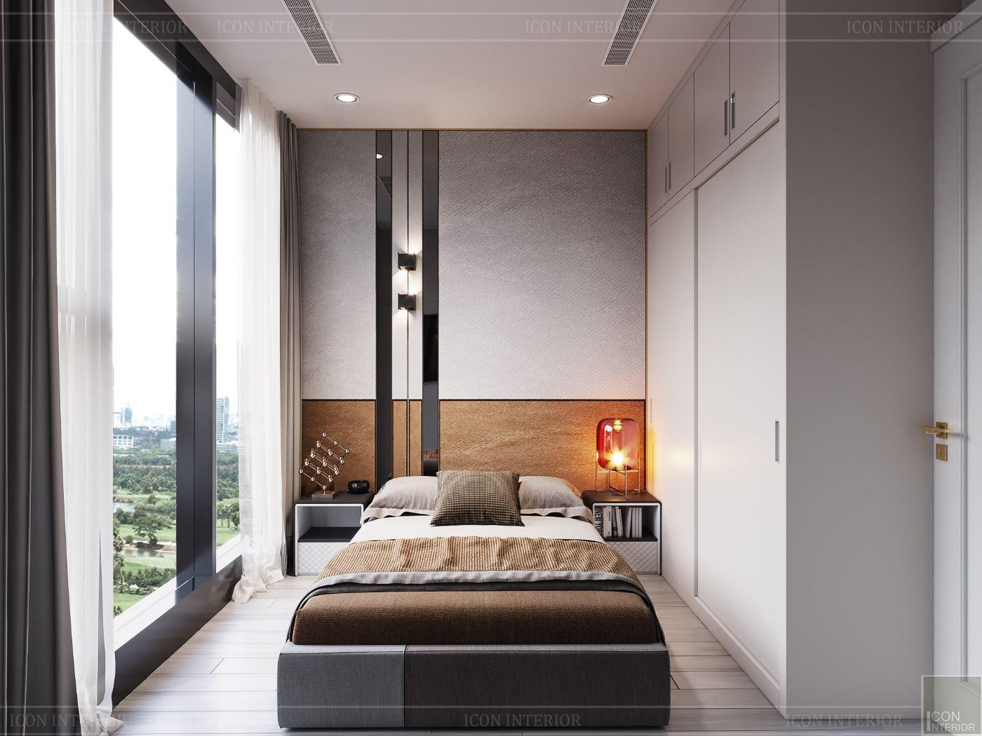 thiết kế căn hộ hiên đại - phòng ngủ nhỏ 1