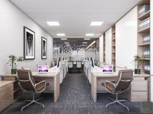 thiết kế nội thất văn phòng hiện đại 5