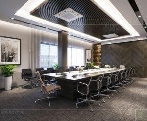 thiết kế nội thất văn phòng hiện đại 9