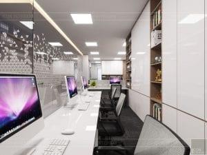 thiết kế nội thất văn phòng hiện đại 12