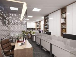 thiết kế nội thất văn phòng hiện đại 13