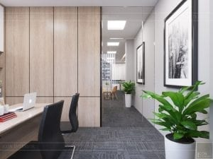 thiết kế nội thất văn phòng hiện đại 14