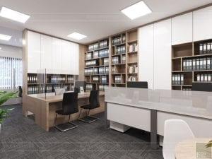 thiết kế nội thất văn phòng hiện đại 11