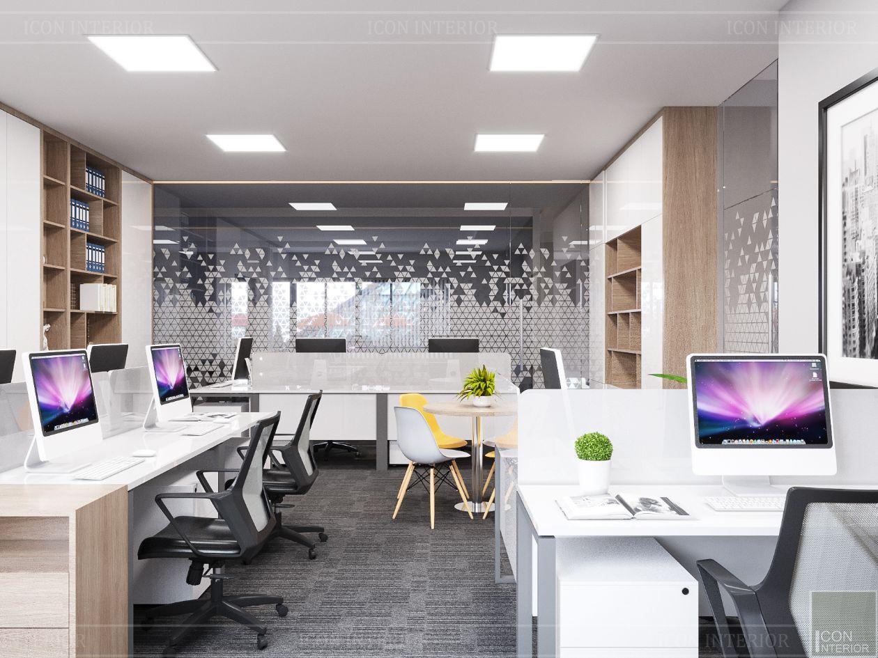 thiết kế nội thất văn phòng hiện đại 18