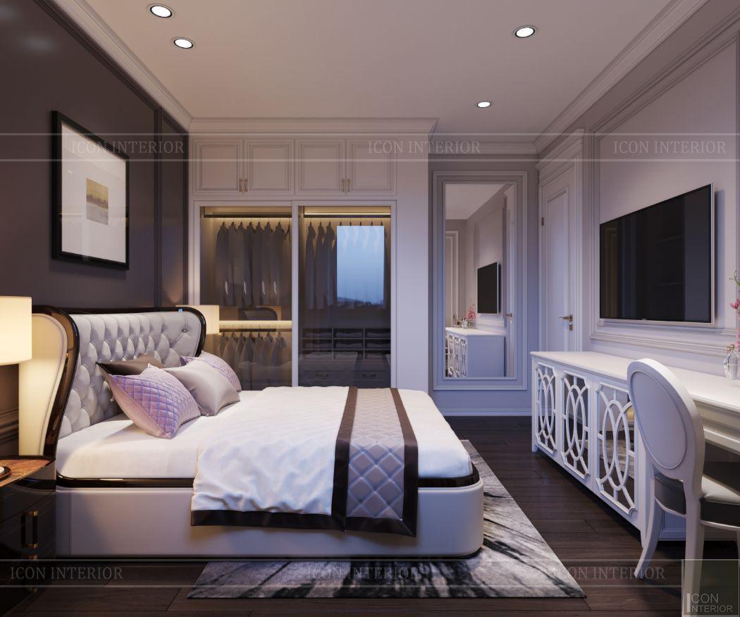 thiết kế căn hộ thảo điền pearl - phòng ngủ nhỏ 2