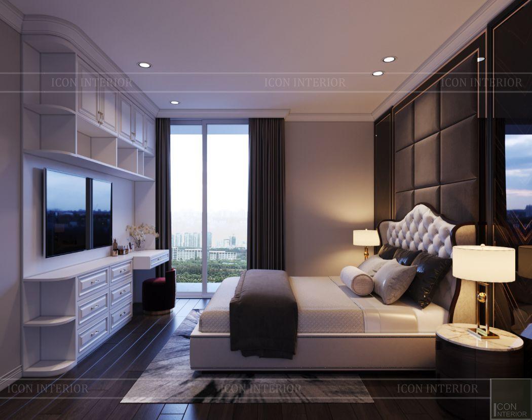 thiết kế căn hộ thảo điền pearl - phòng ngủ nhỏ 1