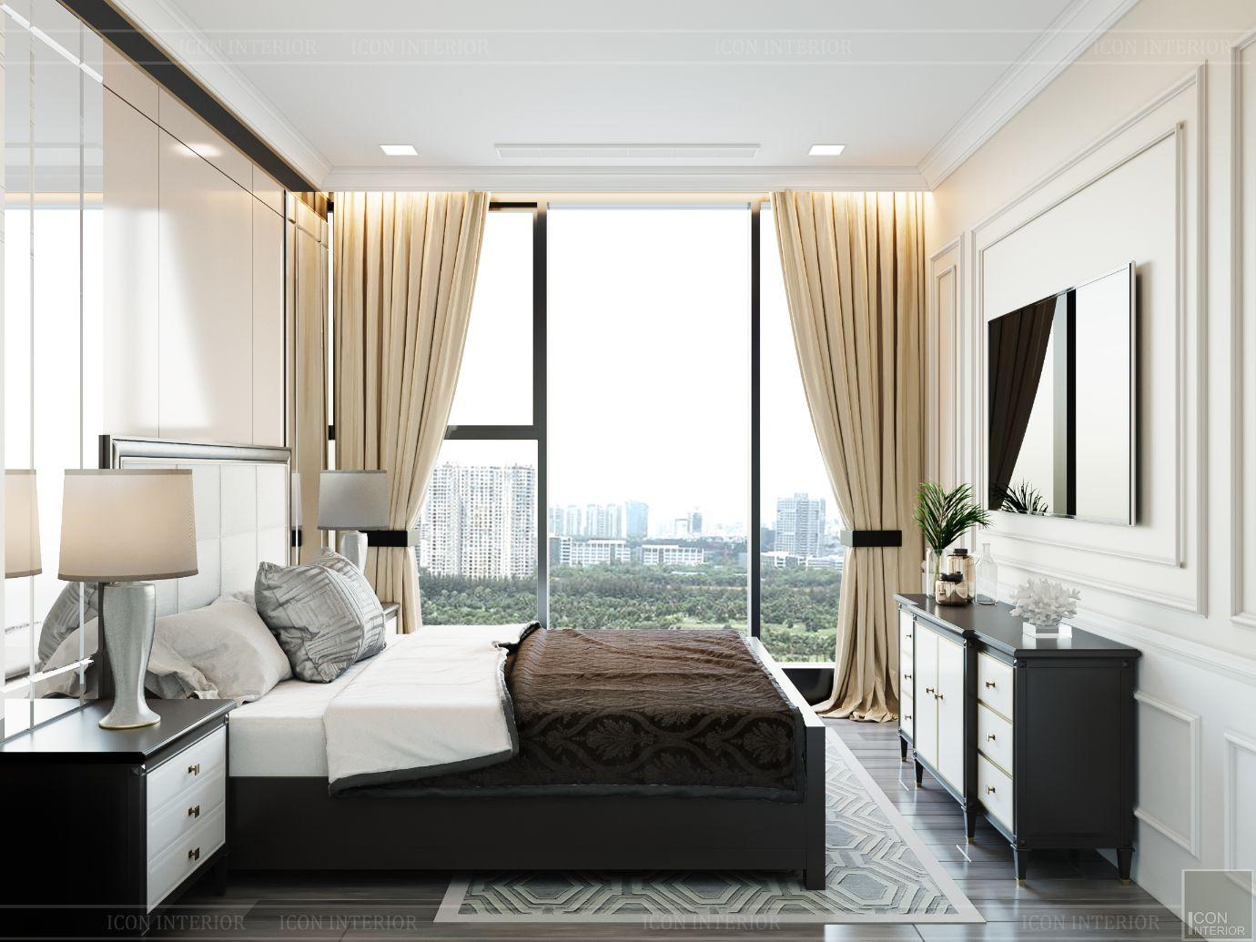 thiết kế chung cư 3 phòng ngủ - phòng ngủ nhỏ 3