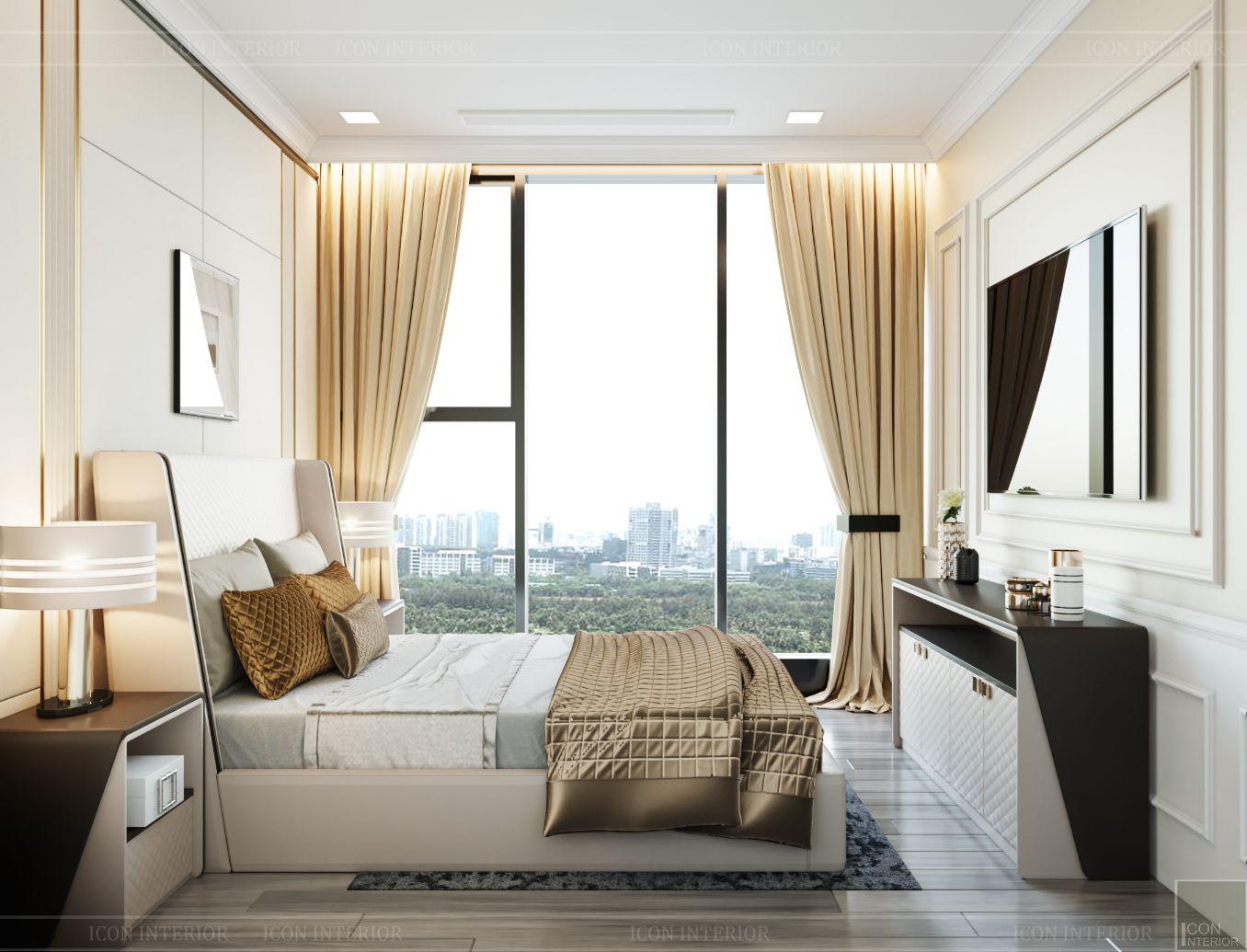 thiết kế chung cư 3 phòng ngủ - phòng ngủ nhỏ 1