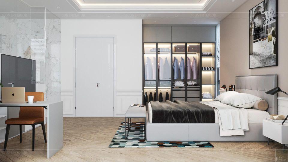 Không gian phòng ngủ - phòng ngủ master 3