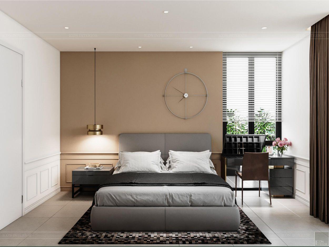thiết kế nội thất nhà phố 2 tầng - phòng ngủ nhỏ 1