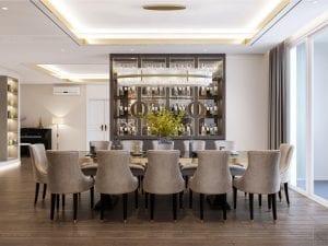thiết kế chung cư thảo điền pearl - phòng ăn