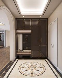 thiết kế chung cư thảo điền pearl - tiền sảnh