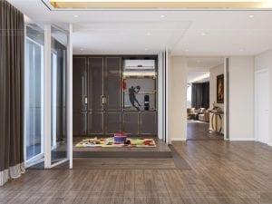 thiết kế chung cư thảo điền pearl - phòng giải trí 1
