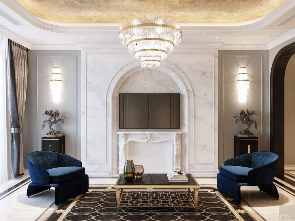 thiết kế nội thất căn hộ opal tower
