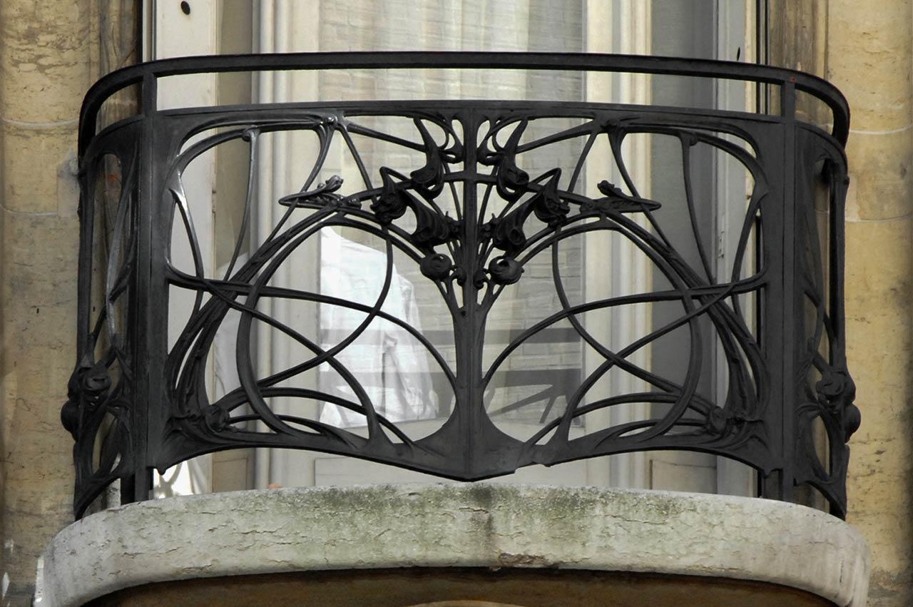 phong cách nội thất art nouveau