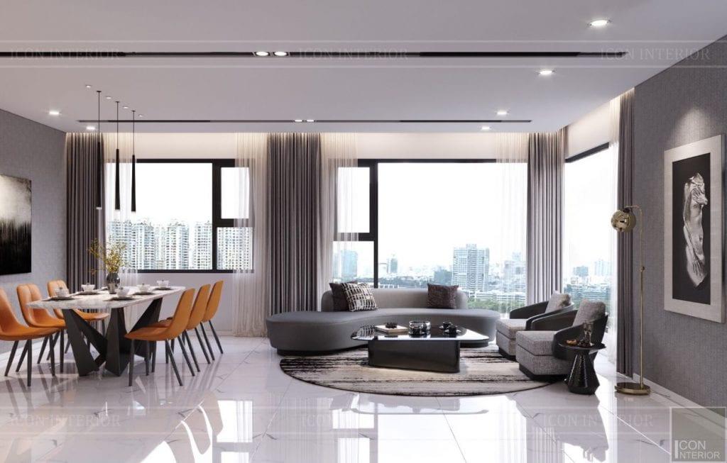 thiết kế nội thất kingdom 101