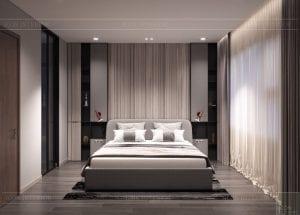 thiết kế nội thất kingdom 101 phong ngủ master