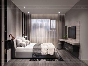 thiết kế nội thất kingdom 101 phòng master