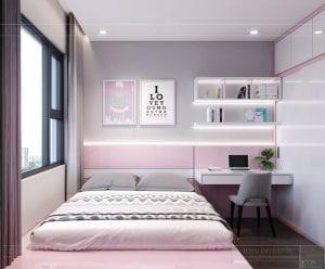 thiết kế nội thất kingdom 101 phòng ngủ bé